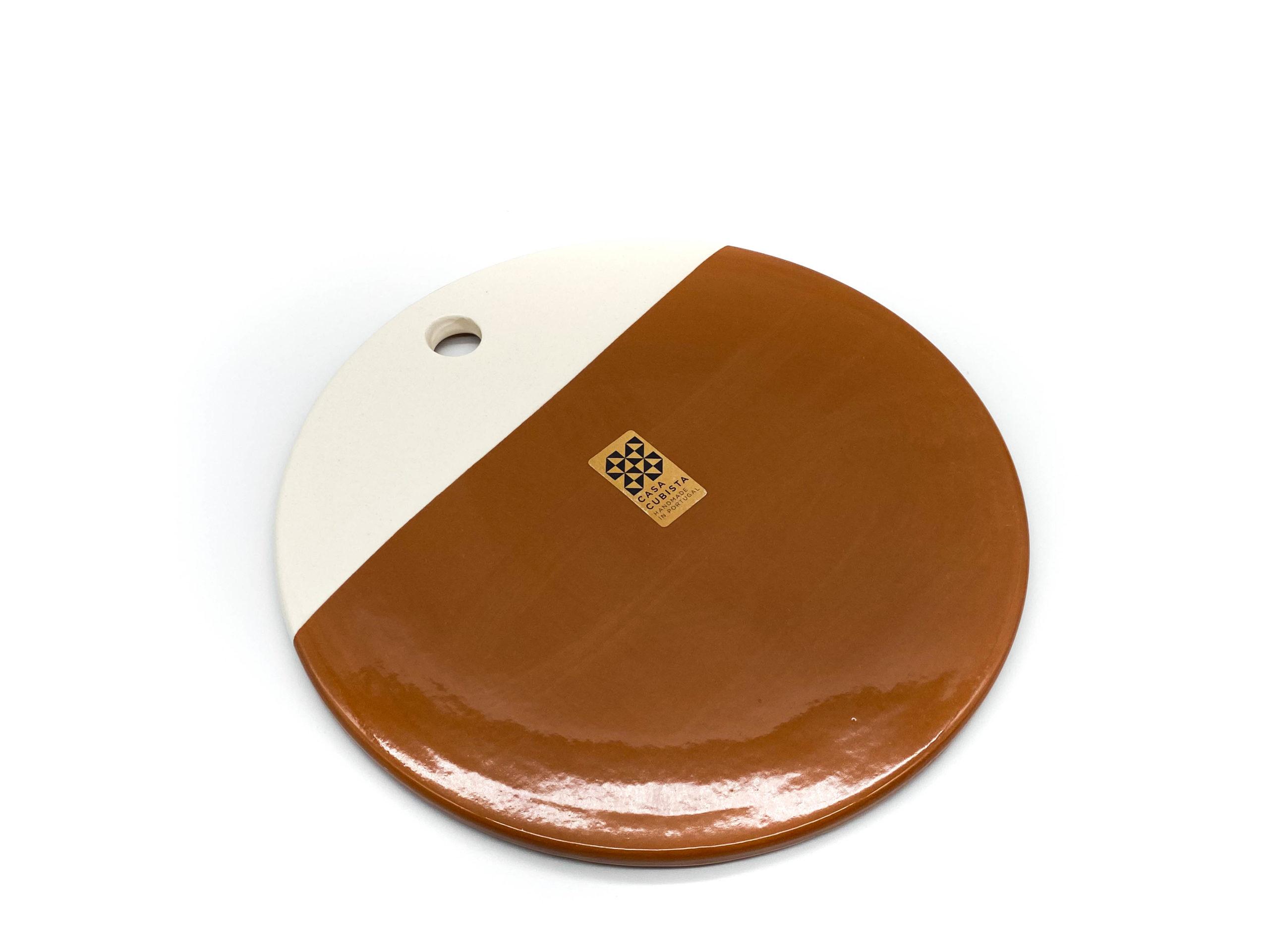 Circular Cheese Plate