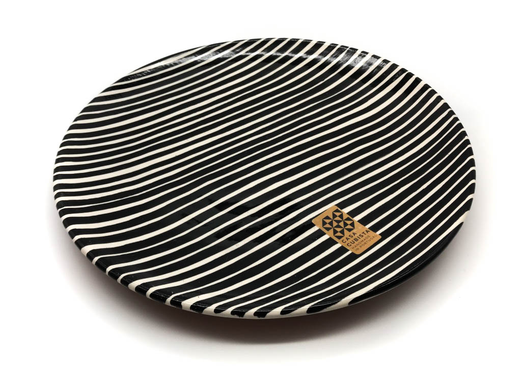 Dinner Plate Striped