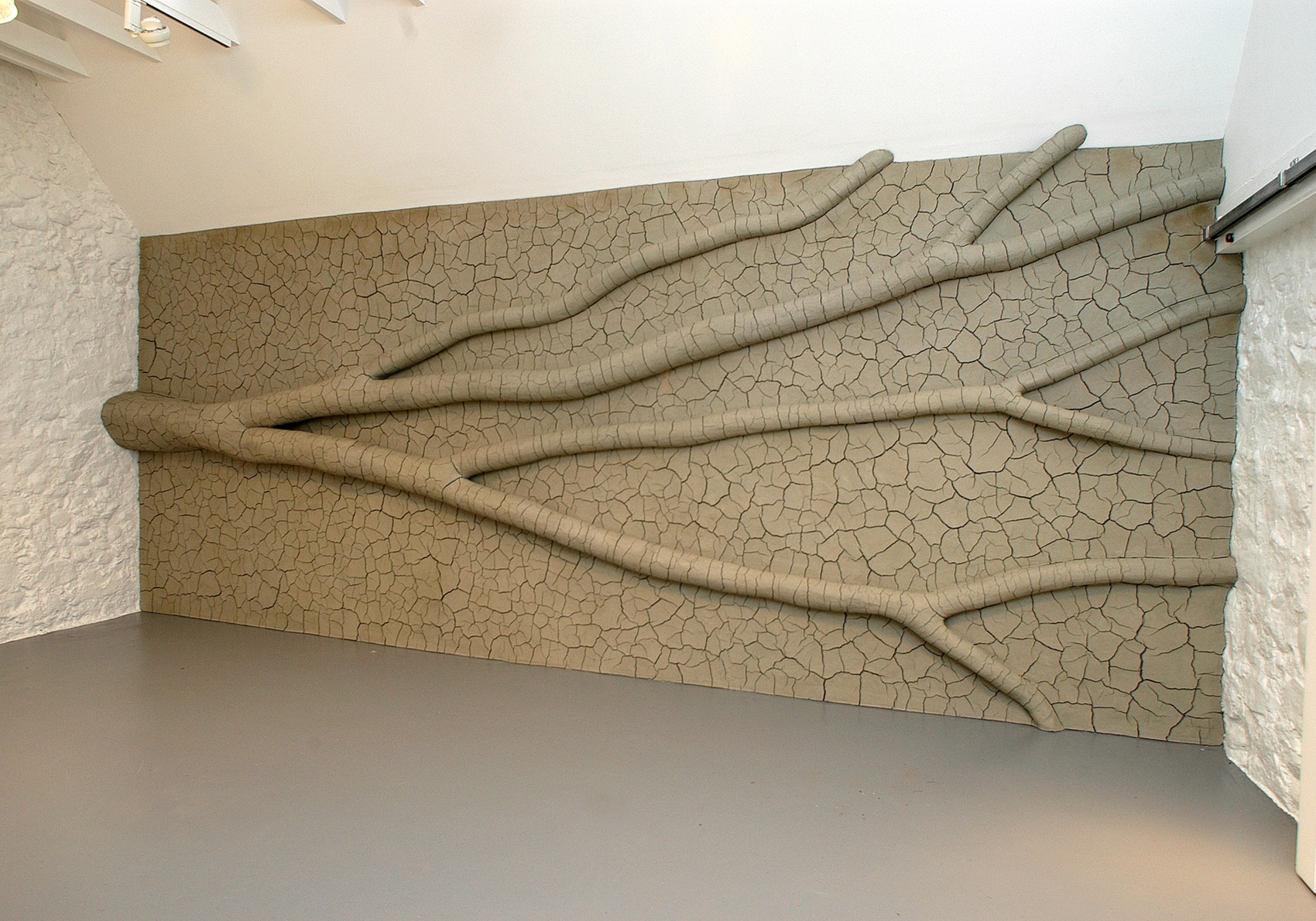 Andy Goldsworthy: Clay Tree Wall