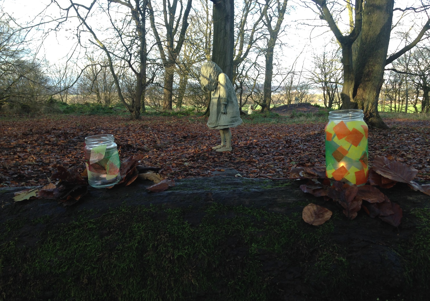 Seasons and Redhall tree dressing by The Weeping Girls
