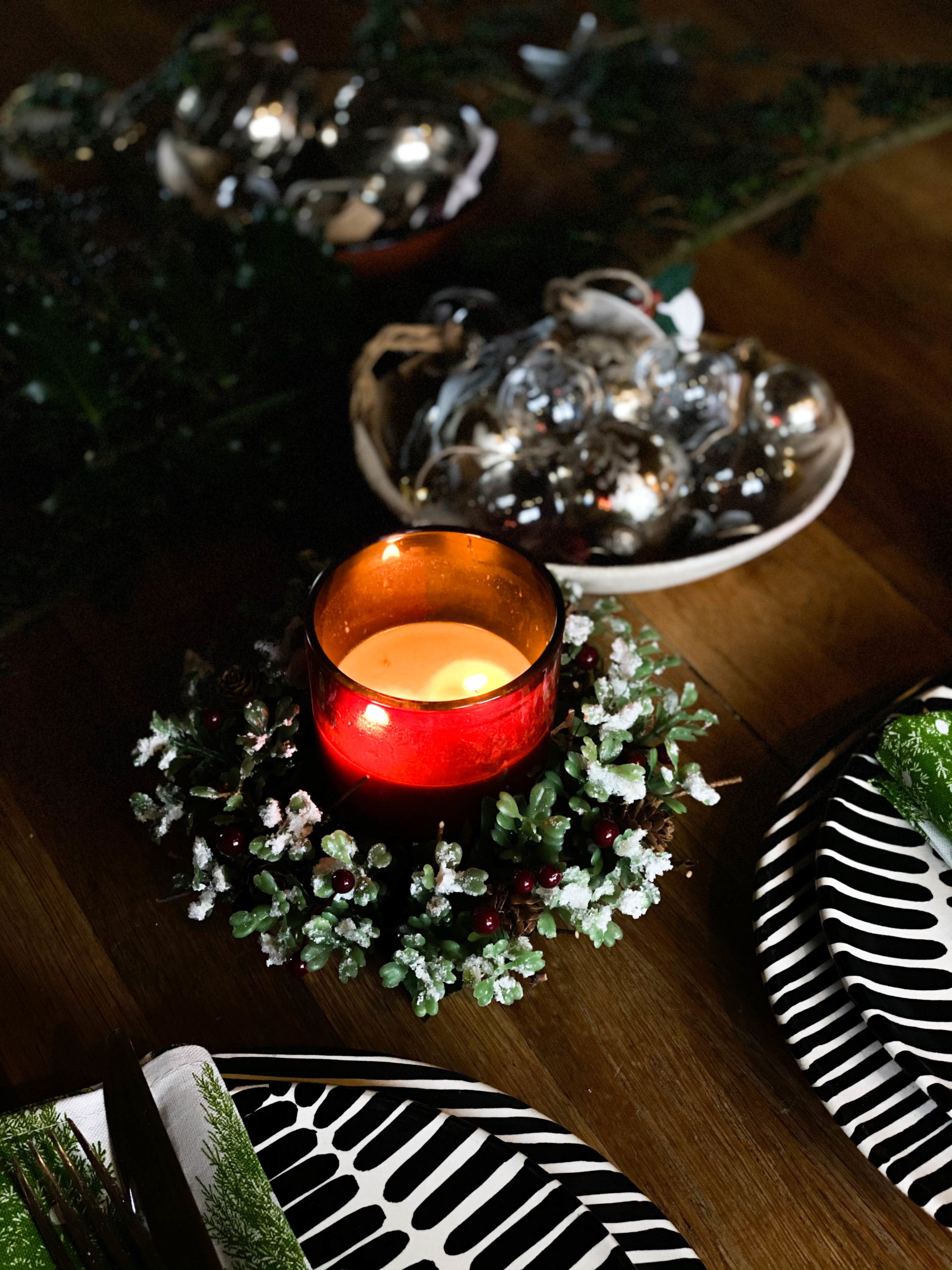 Festive Candle Ring