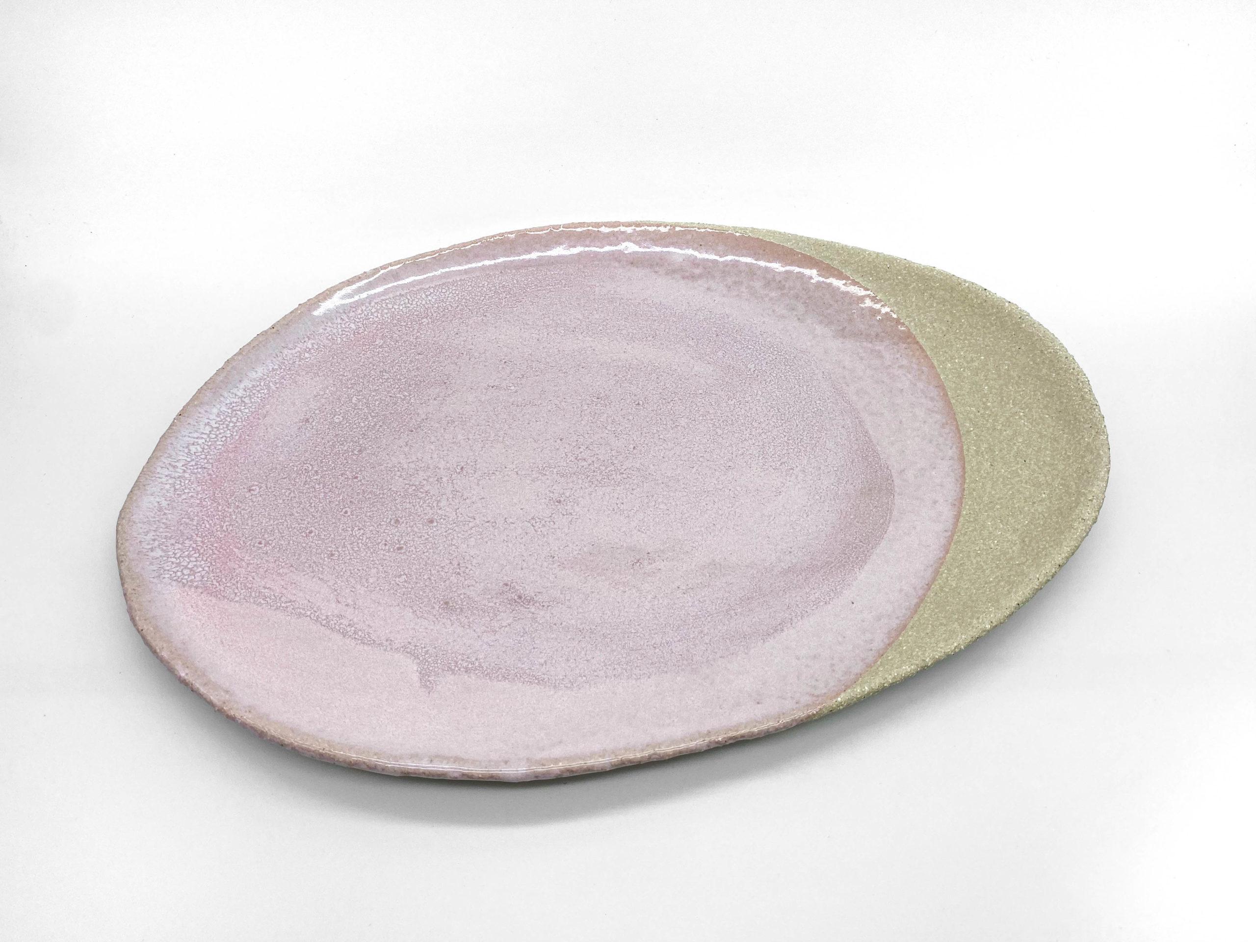 Oval Platter – Pink