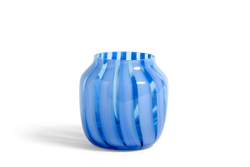 Juice Vase Wide Blue