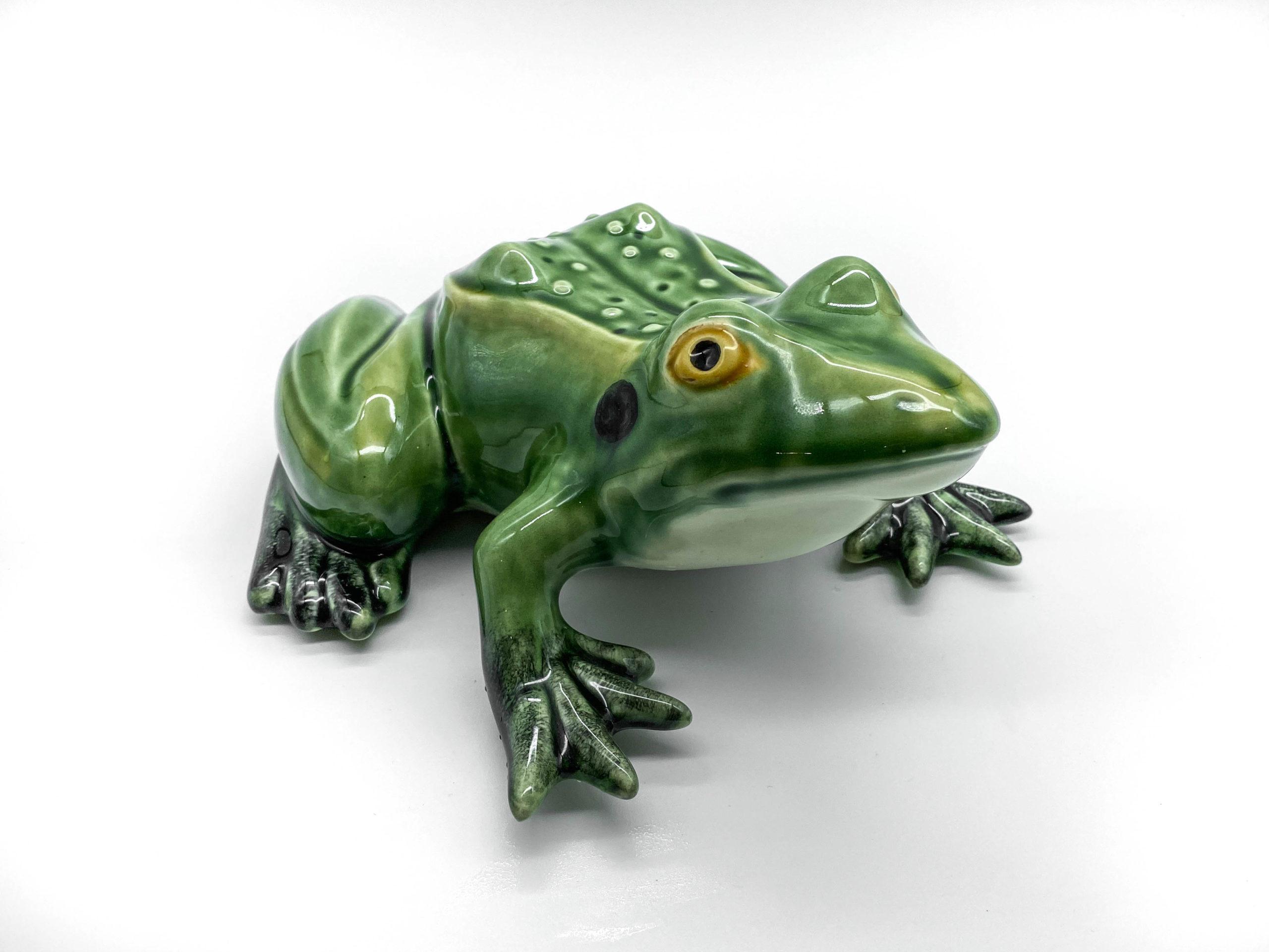 Medium Ceramic Frog