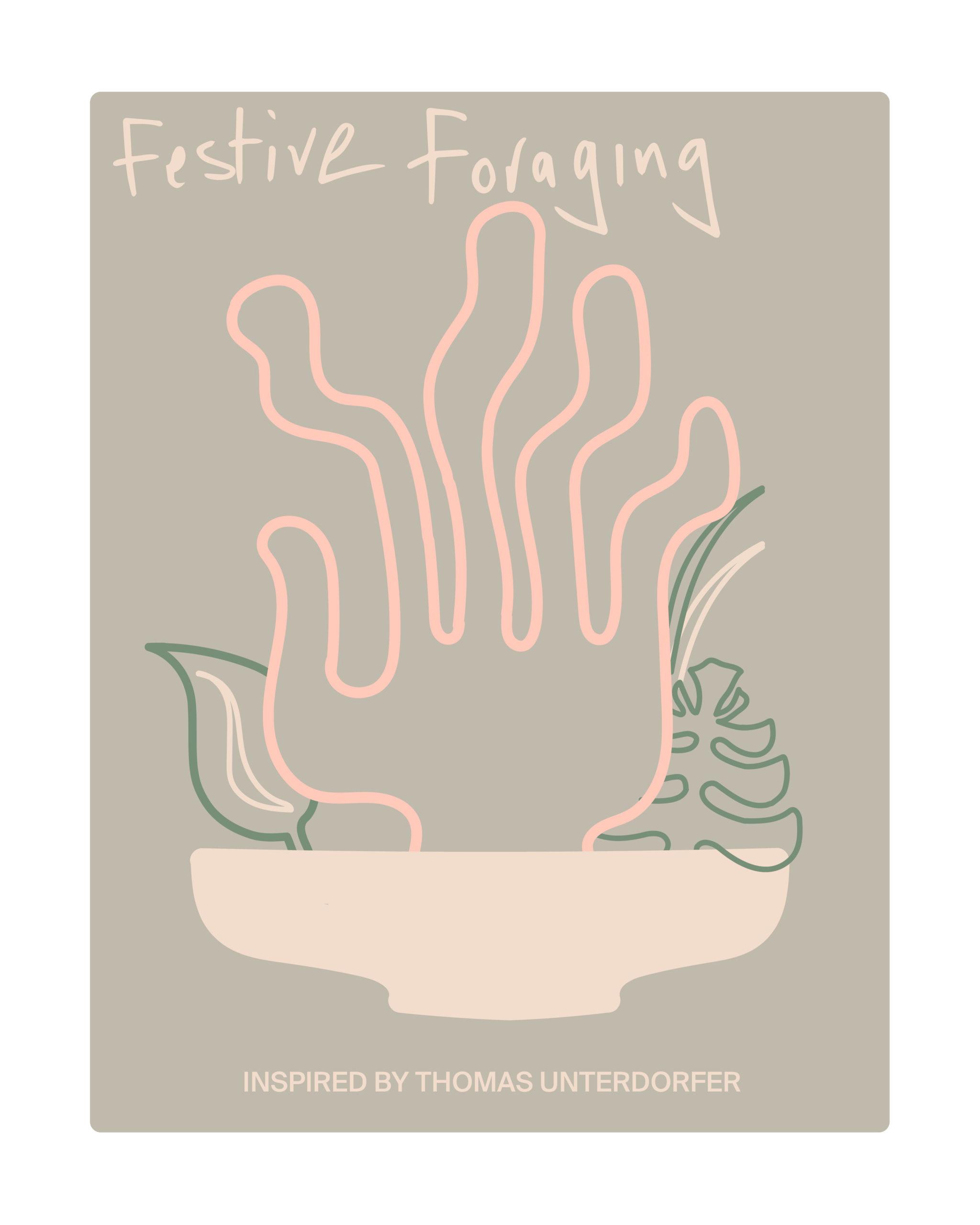 FESTIVE FORAGING